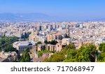 malaga  andalusia  spain. ... | Shutterstock . vector #717068947