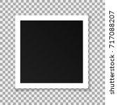 vector paper square frame... | Shutterstock .eps vector #717088207