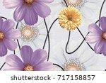 abstract home decorative art... | Shutterstock . vector #717158857