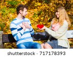 accepting and sharing feelings. ... | Shutterstock . vector #717178393