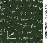 vector illustration of physics... | Shutterstock .eps vector #717232573