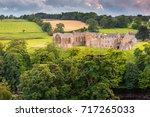 Egglestone Abbey On Riverbank...