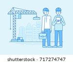 vector illustration in line... | Shutterstock .eps vector #717274747