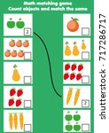math educational game for... | Shutterstock .eps vector #717286717