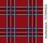 Seamless Tartan Pattern...