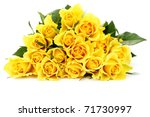 Bunch Of Lovely Yellow Roses  ...