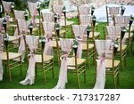 wedding setup | Shutterstock . vector #717317287