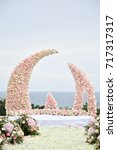 wedding setup | Shutterstock . vector #717317317