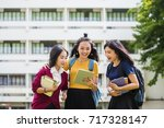 education students people...   Shutterstock . vector #717328147