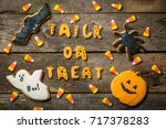 Halloween Concept With Cookies...