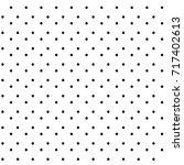 abstract hand drawn polka dot... | Shutterstock .eps vector #717402613