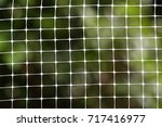 net or nylon nets for... | Shutterstock . vector #717416977