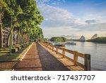 krabi  thailand   jun 4  2017   ... | Shutterstock . vector #717437707