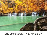 seasons of leaves change color... | Shutterstock . vector #717441307