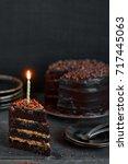 Piece Of Birthday Chocolate...