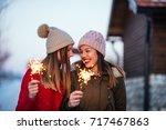 photo of impatient young women... | Shutterstock . vector #717467863