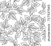 vector seamless pattern with... | Shutterstock .eps vector #717537043