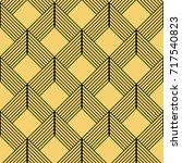art deco seamless pattern... | Shutterstock .eps vector #717540823