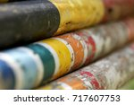 artistic photo of some old... | Shutterstock . vector #717607753