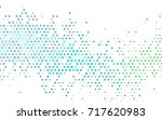 light blue  green vector... | Shutterstock .eps vector #717620983