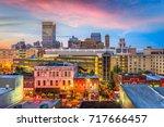 memphis  tennessee  usa...   Shutterstock . vector #717666457