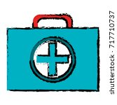medical kit isolated icon | Shutterstock .eps vector #717710737