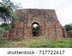 balban's tomb  new delhi....   Shutterstock . vector #717722617
