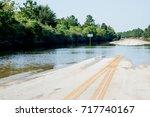 standing water in houston... | Shutterstock . vector #717740167