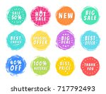 special offers collection of... | Shutterstock .eps vector #717792493