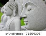 Close Up The Buddha Face