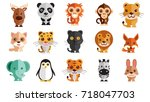 animal | Shutterstock . vector #718047703