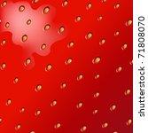 Texture Of Fresh Strawberry ...