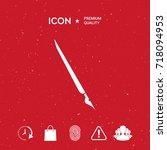 quill pen  fountain pen icon   Shutterstock .eps vector #718094953