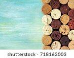 a photo of an assortment of...   Shutterstock . vector #718162003