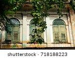 Small photo of Vintage window panel