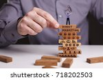 the concept of technology  the... | Shutterstock . vector #718202503