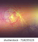 abstract halftone background.... | Shutterstock . vector #718255123