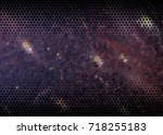 abstract halftone background.... | Shutterstock . vector #718255183