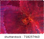 abstract halftone background.... | Shutterstock . vector #718257463