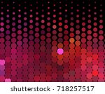 abstract halftone background.... | Shutterstock . vector #718257517