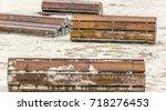 beach walkway   Shutterstock . vector #718276453