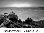 vila nova de milfontes  odemira ...   Shutterstock . vector #718285123