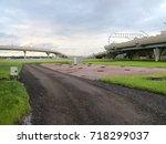 road overpass | Shutterstock . vector #718299037