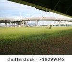 road overpass | Shutterstock . vector #718299043