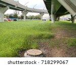 road overpass | Shutterstock . vector #718299067