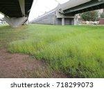 road overpass | Shutterstock . vector #718299073