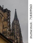 st. vita s cathedral details in ... | Shutterstock . vector #718309063
