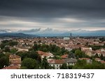 stormy vicenza | Shutterstock . vector #718319437