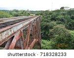 old train bridge | Shutterstock . vector #718328233