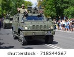 Small photo of Warsaw, Poland - August, 15, 2017: Panther CLV during the Polish Armed Forces Day parade.